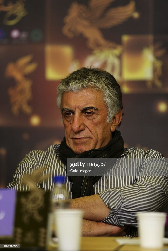 Actor Reza Kianian at Day 1 of the 31th International Fajr Film Festival on January 31, 2013 in Tehran, Iran. Organized by the Ministry of Culture and Islamic Guidance, the Film Festival is the most important film event in the country.
