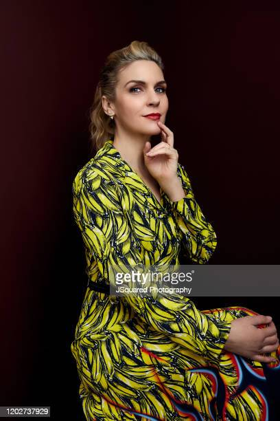 Actor Rhea Seehorn of AMC's Better Call Saul' poses for a portrait during the 2020 Winter TCA Portrait Studio at The Langham Huntington Pasadena on...