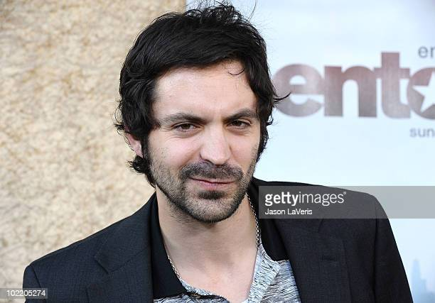 """Actor Rhys Coiro attends the season 7 premiere of HBO's """"Entourage"""" at Paramount Studios on June 16, 2010 in Los Angeles, California."""