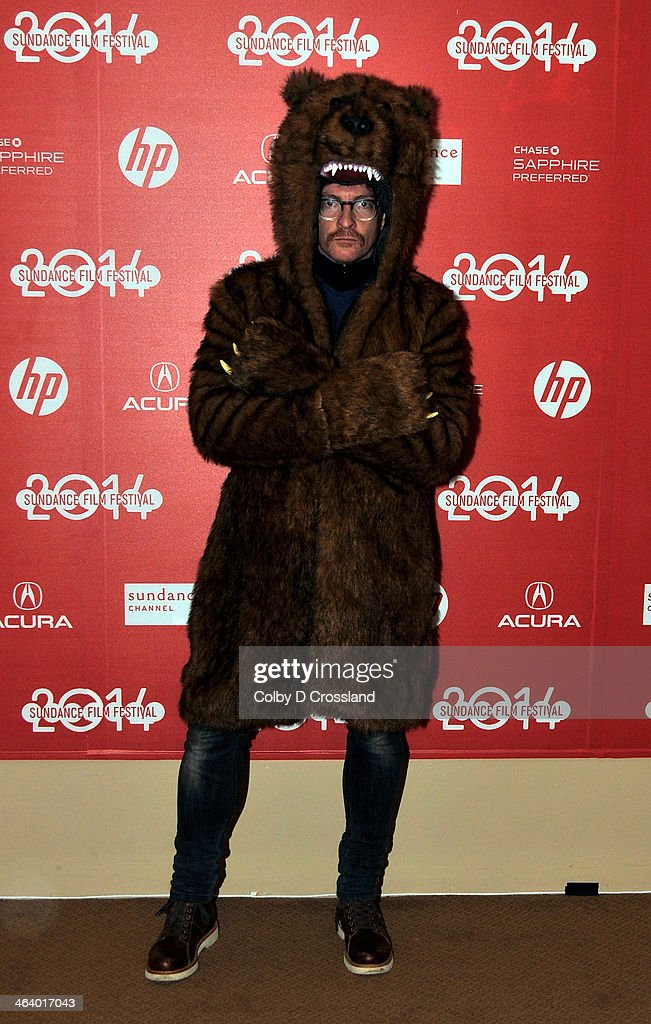 Actor Rhys Darby attends the 'What We Do In The Shadows' premiere at the Egyptian Theatre during the 2014 Sundance Film Festival on January 19, 2014 in Park City, Utah.