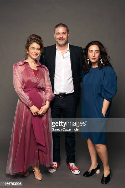 Actor Érica Rivas producer Juan Pablo Miller and director Paula Hernández from the film 'The Sleepwalkers' pose for a portrait during the 2019...