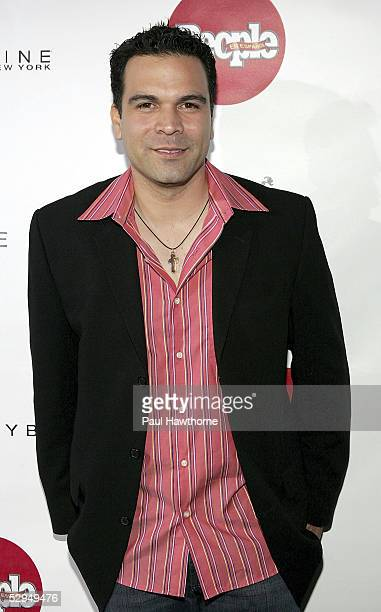 Actor Ricardo Antonio Chavira attends People En Espanol's 4th Annual 50 Most Beautiful Gala at Capitale May 18 2005 in New York City