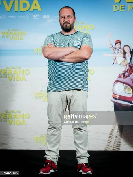 Actor Ricardo Castella attends 'El Mejor Verano de mi Vida' photocall at Hotel Intercontinental on July 9 2018 in Madrid Spain