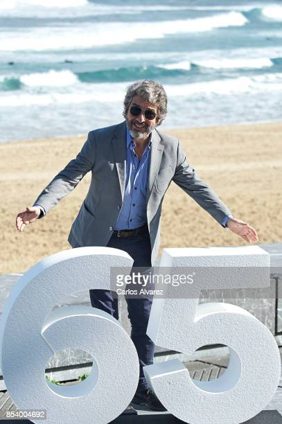 Actor Ricardo Darin attends 'La Cordillera' photocall during the 65th San Sebastian International Film Festival on September 26 2017 in San Sebastian...
