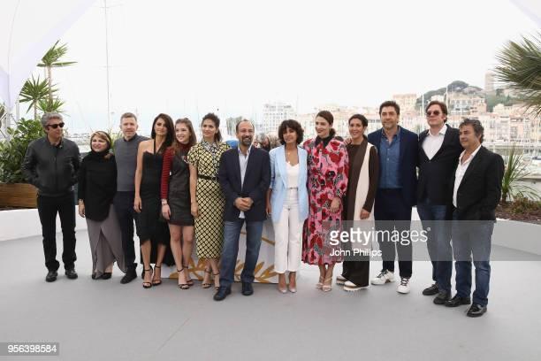 Actor Ricardo Darin Guests actress Penelope Cruz wearing jewels by Atelier Swarovski Fine Jewelry Carla Campra Sara Salamo director Asghar Farhadi...