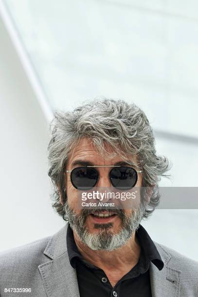 Actor Ricardo Darin presents 'Escenas de Vida Conyugal' at the Canal Teather on September 15 2017 in Madrid Spain