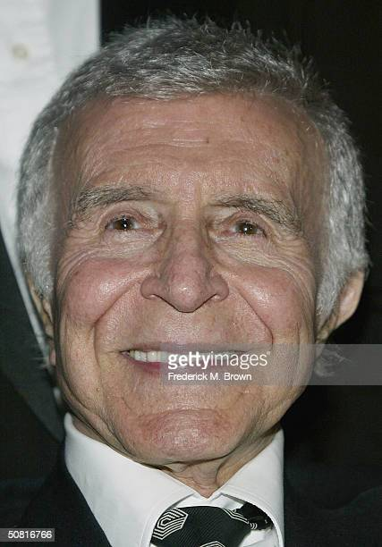 Actor Ricardo Montalban attends the Unveiling and Gala Inauguration of the Ricardo Montalban Theatre on May 8 2004 in Hollywood California