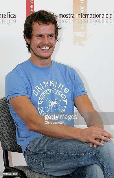 Actor Ricardo Trepa poses at the photo call for Espelho Magico as part of the 62nd Venice Film Festival on September 1 2005 in Venice Italy