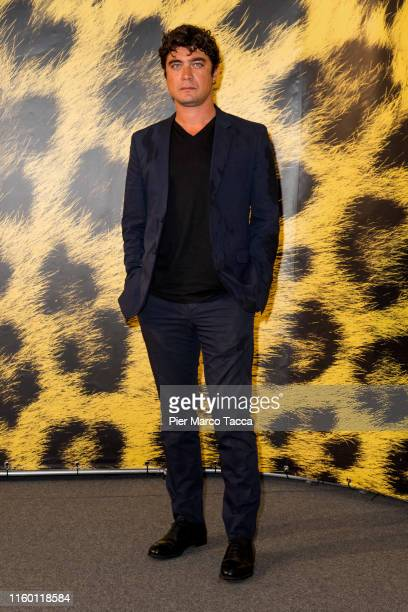 Actor Riccardo Scamarcio attends a 'Magari' photocall during the 72nd Locarno Film Festival on August 7 2019 in Locarno Switzerland