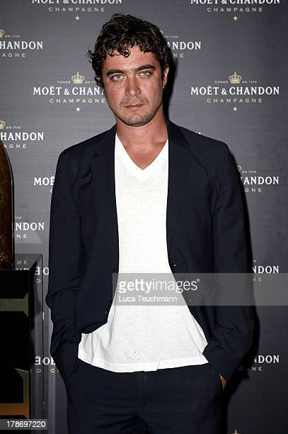 Actor Riccardo Scamarcio attends 'Bungalow 8 Pop Up at theVenice Film Festival' during the 70th Venice International Film Festival at Palazzina G on...