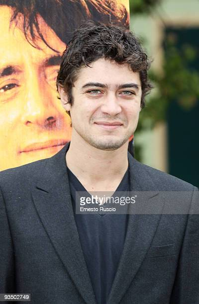 Actor Riccardo Scamarcio attends the 'L'uomo Nero' photocall at La Casa Del Cinema on November 30 2009 in Rome Italy