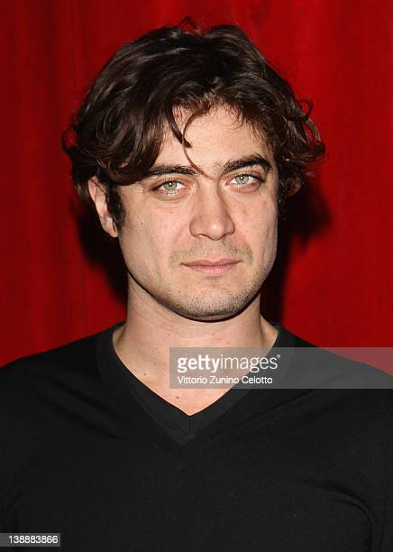 Actor Riccardo Scamarcio attends the 'Romeo e Giulietta' photocall at Teatro Smeraldo on February 13 2012 in Milan Italy