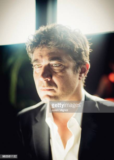 Actor Riccardo Scamarcio is photographed for Grazia Daily on May 2018 in Cannes France