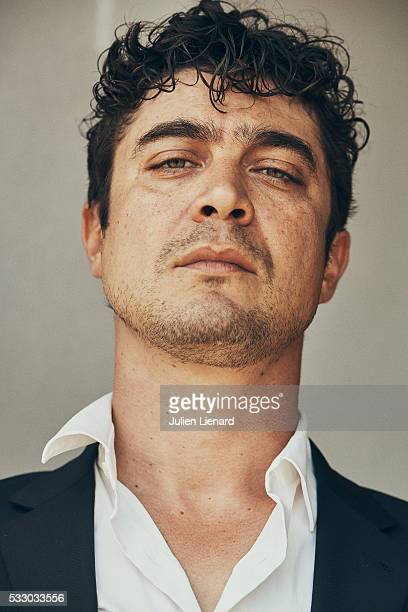 Actor Riccardo Scamarcio is photographed for Self Assignment on May 17 2016 in Cannes France