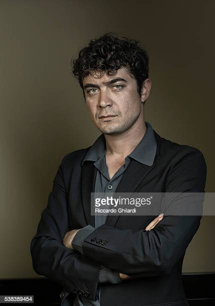 Actor Riccardo Scamarcio is photographed for Self Assignment on May 19 2016 in Cannes France