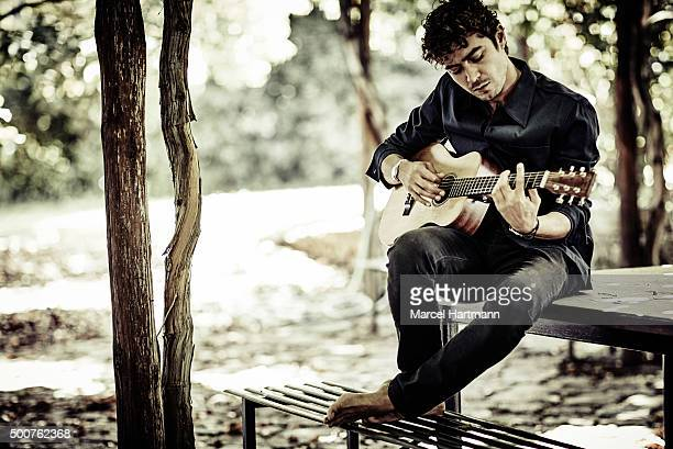 Actor Riccardo Scamarcio is photographed for Vanity Fair - Italy on September 30, 2015 in Rome, Italy.