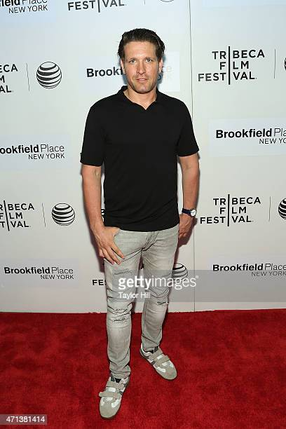 """Actor Rich Graff attends the world premiere of """"Tumbledown"""" during the 2015 Tribeca Film Festival at BMCC Tribeca PAC on April 18, 2015 in New York..."""