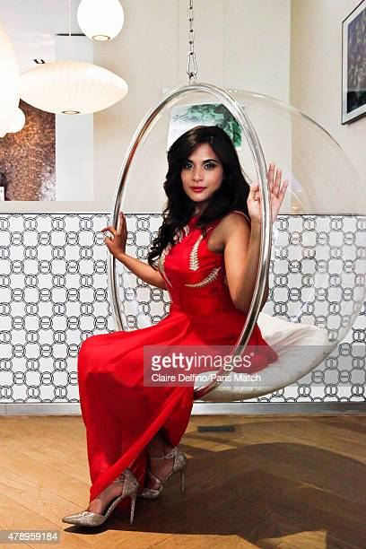 Actor Richa Chadda is photographed for Paris Match on June 4 2015 in Paris France