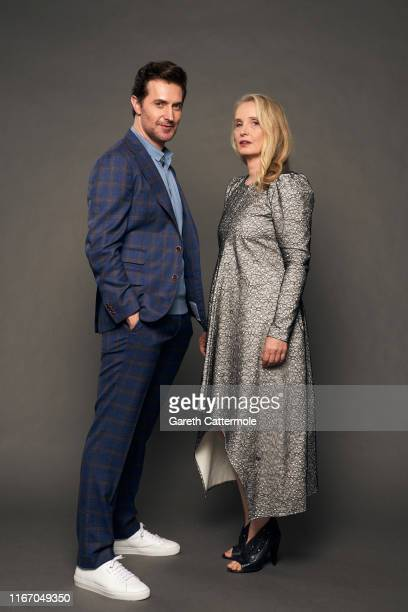 Actor Richard Armitage and writer/director/actor Julie Delpy from the film 'My Zoe' poses for a portrait during the 2019 Toronto International Film...