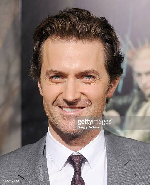 """Actor Richard Armitage arrives at the Los Angeles premiere of """"The Hobbit: The Desolation Of Smaug"""" at TCL Chinese Theatre on December 2, 2013 in..."""