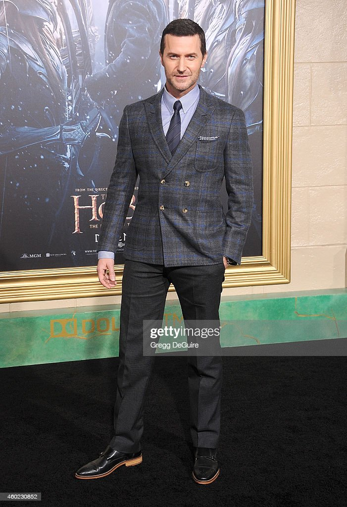 Actor Richard Armitage arrives at the Los Angeles premiere of 'The Hobbit: The Battle Of The Five Armies' at Dolby Theatre on December 9, 2014 in Hollywood, California.