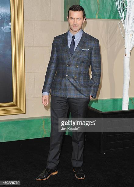 """Actor Richard Armitage arrives at the Los Angeles Premiere """"The Hobbit: The Battle Of The Five Armies"""" at Dolby Theatre on December 9, 2014 in..."""