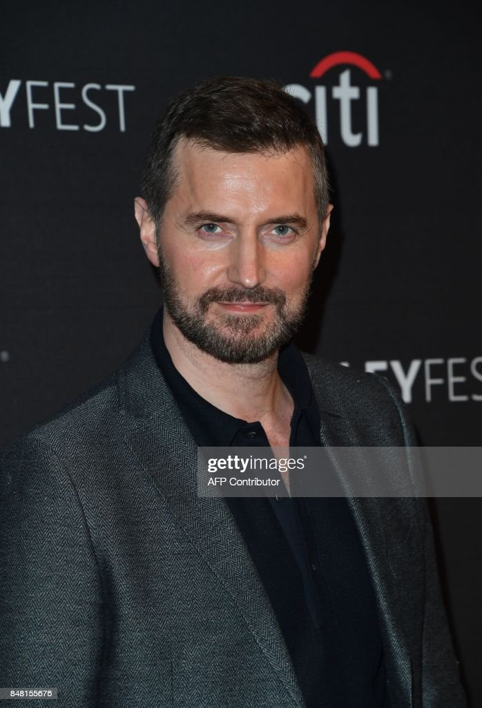 Actor Richard Armitage arrives on the red carpet for the EPIX 'Berlin Station' preview at The Paley Center for Media in Beverly Hills, California, on September 16, 2017. / AFP PHOTO / Mark RALSTON