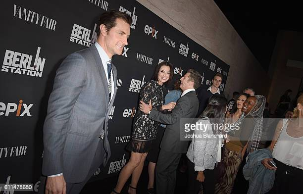 Actor Richard Armitage attends EPIX 'Berlin Station' LA premiere at Milk Studios on September 29 2016 in Los Angeles California