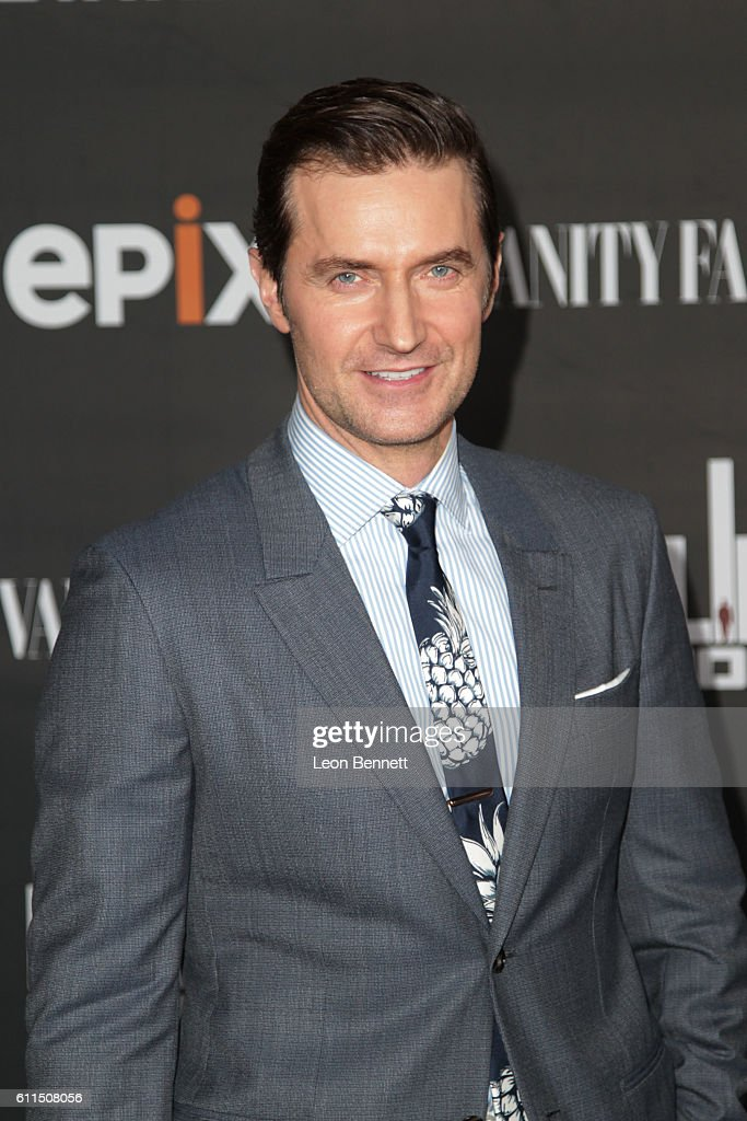 Actor Richard Armitage attends Premiere Of EPIX's 'Berlin Station' at Milk Studios on September 29, 2016 in Hollywood, California.