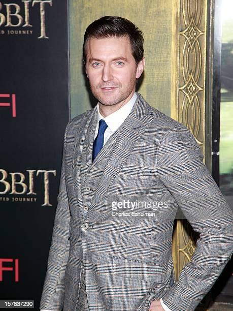 "Actor Richard Armitage attends ""The Hobbit: An Unexpected Journey"" premiere at the Ziegfeld Theater on December 6, 2012 in New York City."