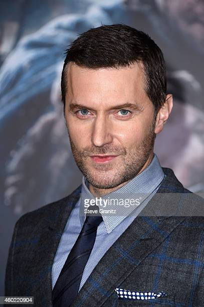 Actor Richard Armitage attends The Hobbit The Battle Of The Five Armies Los Angeles Premiere at Dolby Theatre on December 9 2014 in Hollywood...