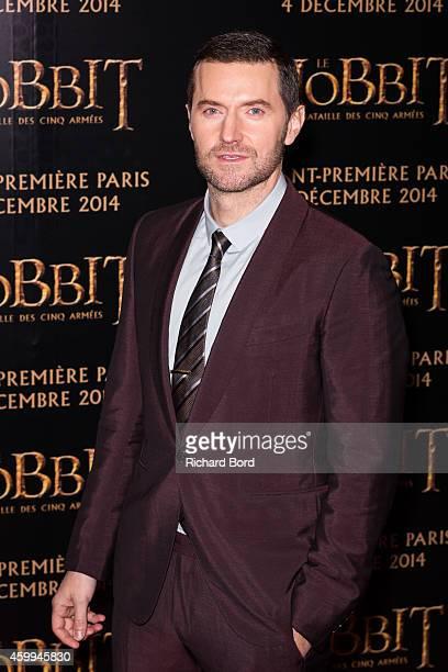 Actor Richard Armitage attends 'The Hobbit The Battle Of The Five Armies' Paris Premiere at Le Grand Rex on December 4 2014 in Paris France