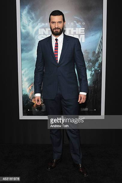 """Actor Richard Armitage attends the """"Into The Storm"""" premiere at AMC Lincoln Square Theater on August 4, 2014 in New York City."""