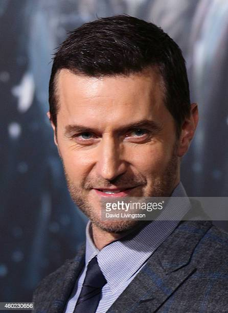 Actor Richard Armitage attends the premiere of New Line Cinema MGM Pictures and Warner Bros Pictures' The Hobbit The Battle of the Five Armies at the...