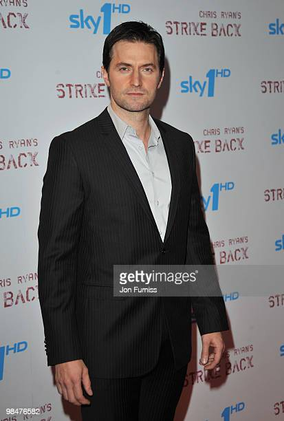 Actor Richard Armitage attends the special premiere of Sky One's 'Strike Back' at the Vue West End on April 15 2010 in London England