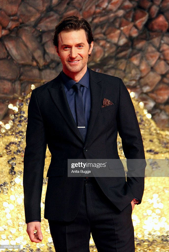 Actor Richard Armitage attends the 'The Hobbit: The Desolation of Smaug' European Premiere at Cinestar on December 9, 2013 in Berlin, Germany.