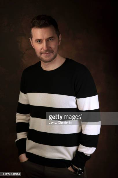 Actor Richard Armitage from 'The Lodge' is photographed for Los Angeles Times on January 25 2019 at the 2019 Sundance Film Festival in Salt Lake City...