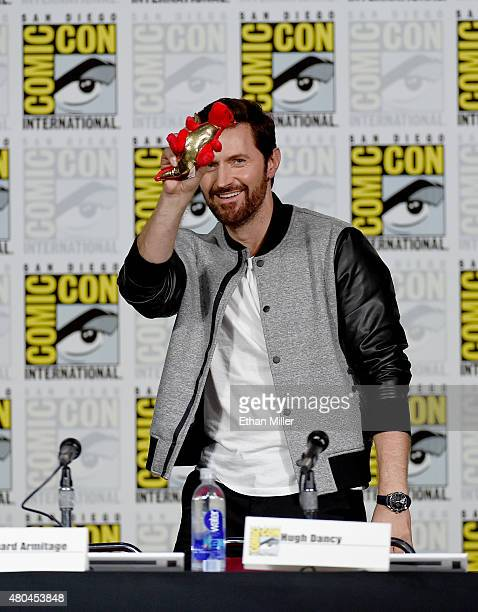 Actor Richard Armitage onstage at the 'Hannibal' Savor the Hunt panel during ComicCon International 2015 at the San Diego Convention Center on July...