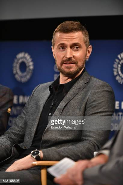 Actor Richard Armitage speaks on a panel during The Paley Center For Media's 11th Annual PaleyFest Fall TV Previews for EPIX at The Paley Center for...