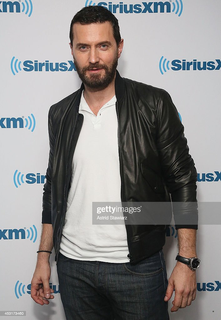 Actor Richard Armitage visits the SiriusXM Studios on August 4, 2014 in New York City.