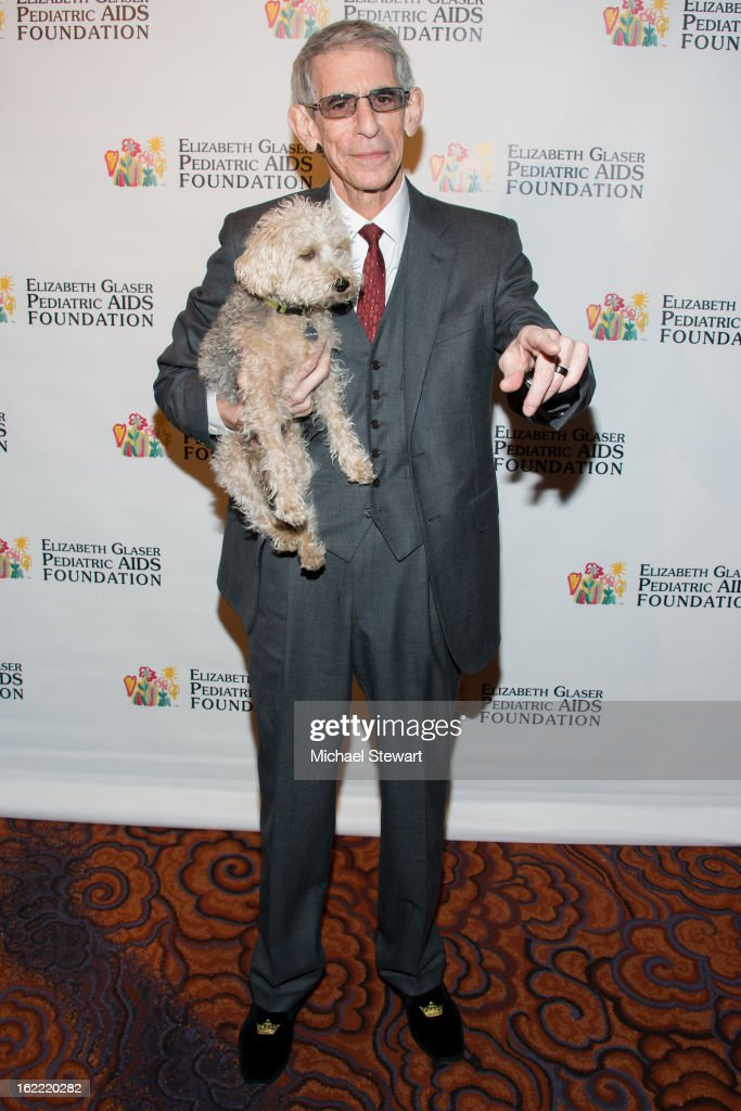 Actor Richard Belzer attends Global Champions Of A Mother's Fight Awards Dinner at Mandarin Oriental Hotel on February 20, 2013 in New York City.