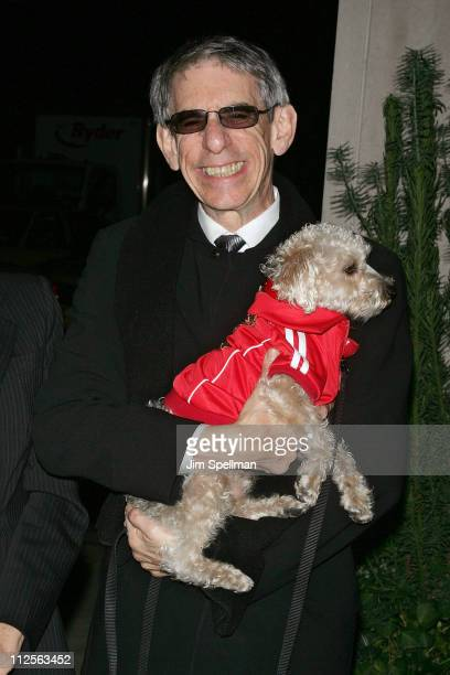 Actor Richard Belzer attends the Look Premiere at The Core Club on October 29 2007 in New York City