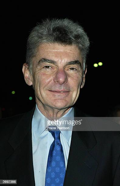 Actor Richard Benjamin arrive for the William Holden Wildlife Foundation's 20th Anniversary 'Broadway goes to the Movies' concert held at the Los...