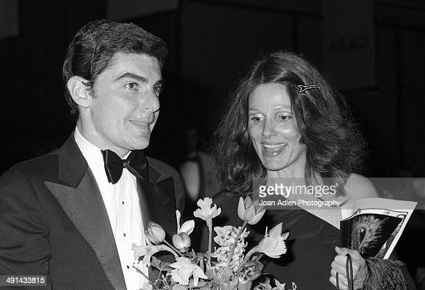 Actor Richard Benjamin with his wife and actress Paula Prentiss attend the Filmex black tie ball at the Century City Hotel after the movie premiere...