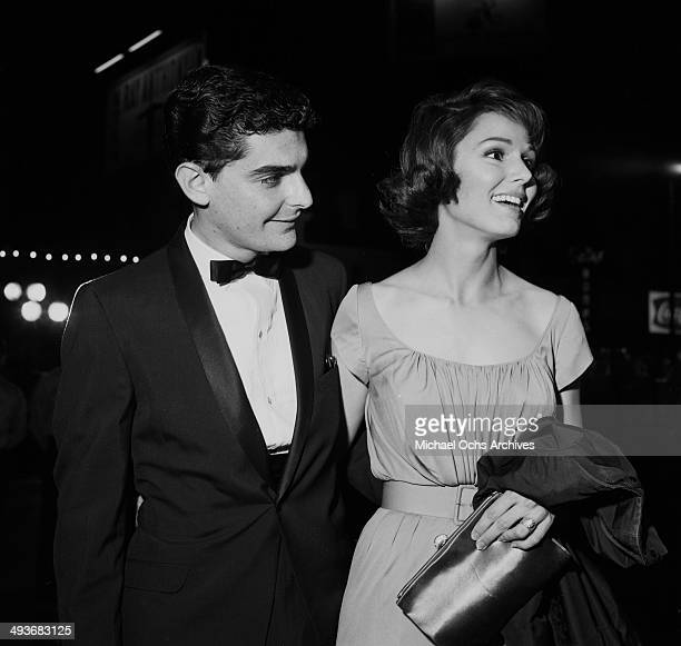 Actor Richard Benjamin with his wife Paula Prentiss attend a dinner in Los Angeles California