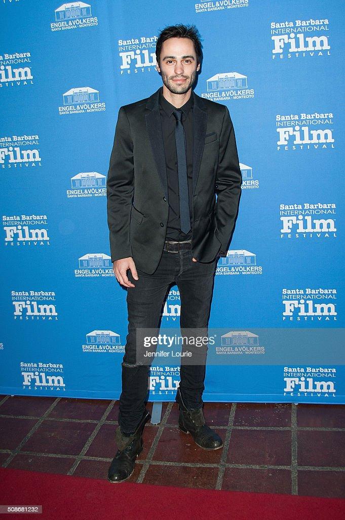 Actor Richard Brancatisano arrives at the presentation of the American Riviera Award at the 31st Santa Barbara International Film Festival at the Arlington Theatre on February 5, 2016 in Santa Barbara, California.
