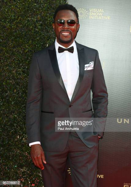 Actor Richard Brooks attends the 45th Annual Daytime Creative Arts Emmy Awards at the Pasadena Civic Auditorium on April 27 2018 in Pasadena...