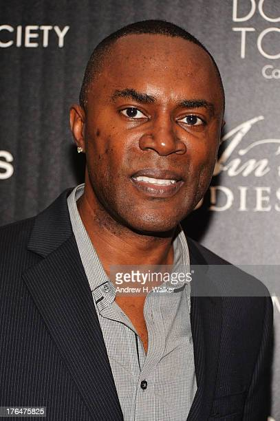 Actor Richard Brooks attends the Downtown Calvin Klein with The Cinema Society screening of IFC Films' Ain't Them Bodies Saints at the Museum of...