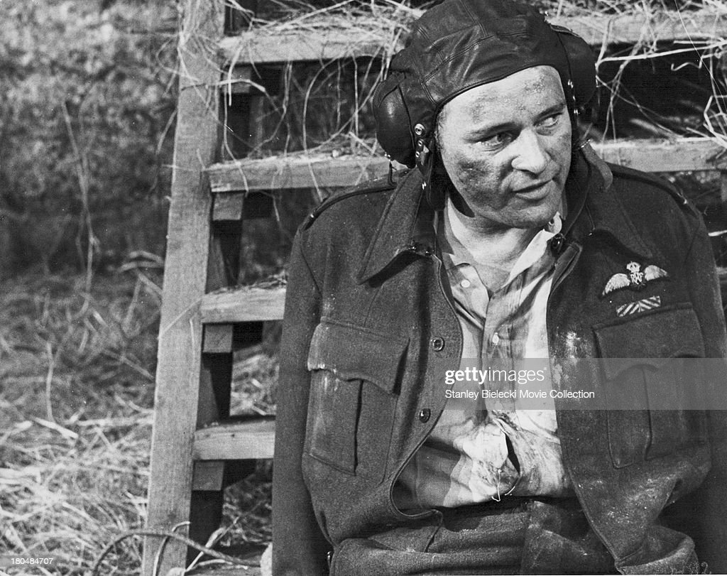 Actor Richard Burton in a scene from the movie 'The Longest