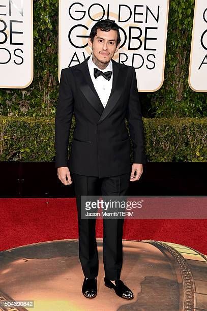 Actor Richard Cabral attends the 73rd Annual Golden Globe Awards held at the Beverly Hilton Hotel on January 10 2016 in Beverly Hills California